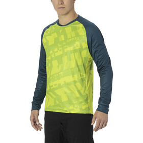 Giro Roust LS Jersey Men citron green fanatic